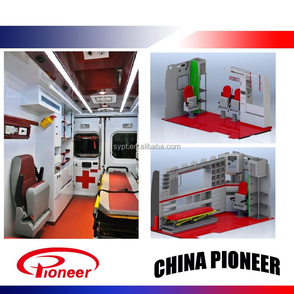 Ambulance interior equipment and Aluminum Ambulance parts