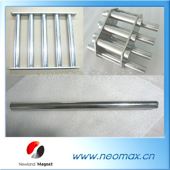magnet grate/grid/bar for filter to remove ferrous metal
