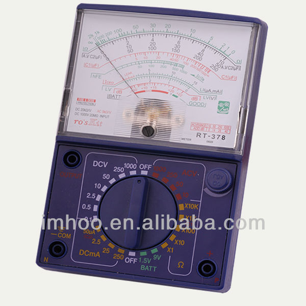 Professional Analog Multimeter
