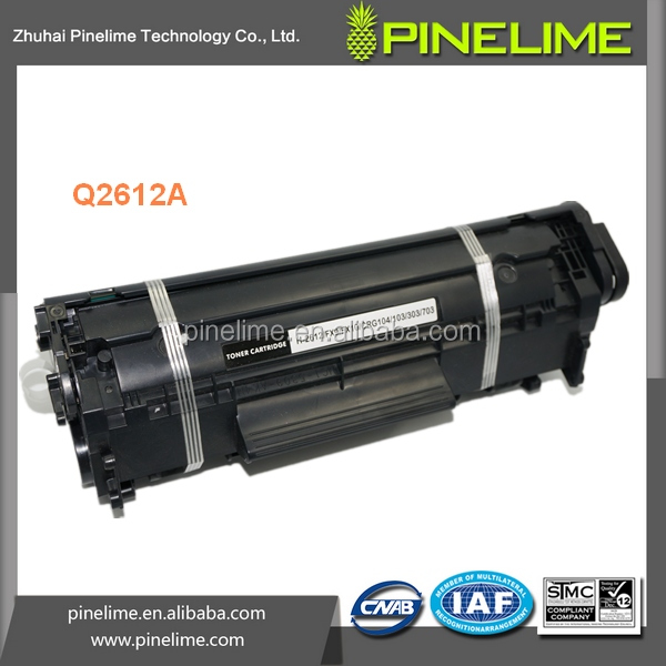 12A, For HP compatible laser cartridge Q2612A 2612A <strong>Q</strong> 2612A