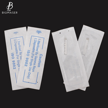 100pcs wholesale 3D semi permanent makeup eyebrow needles disposable tattoo microblading blades