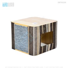 GMT60200 top best selling pet products new design beige pet product sisal pet tree wooden cat house