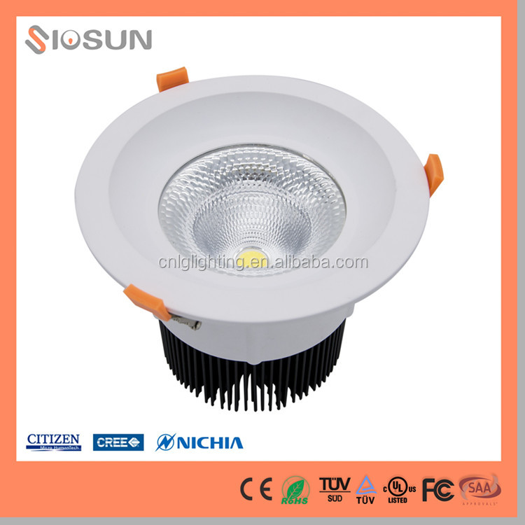2016 New Product 100w IP20 COB LED Down Light Price 200mm