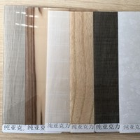 decorative material for wooden board 1 mm acrylic