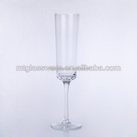 Large size antique High quality champagne flute glass