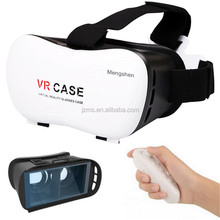 "VR Case Virtual Reality 3D Video Glasses Head Mounted Google Cardboard Movie Glass for 4.7""~6.0"" Smartphones"