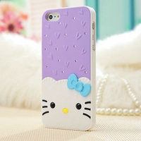 2013 New cell phone fashion cute unique design high quality back hard clear pc case for iphone 5