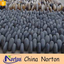 River natural flat pebble stone for sale NTCS-P001Y