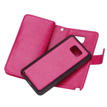 2 in 1 Style Detachable Leather case for Samsung Note 5 Cover,Flip Wallet Case for Samsung Galaxy Note 5 cover with Card Slot