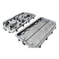 OEM plastic spill container , rotomoulding aluminium mould pallet