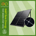 160W portable solar panel for home use