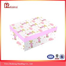 Best selling custom design rectangle folding paper box with good offer