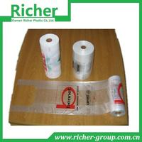 HDPE/LDPE plastic bags in roll for vegetable packing