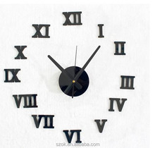 wholesale of 3d pictures Digital acrylic wall clock