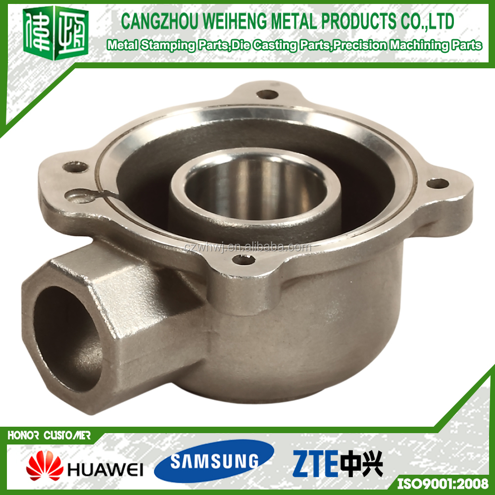 high quality OME factory CNC precision machining parts service via cnc machine price list ISO9001 standard