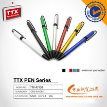 Stationery from korea plastic ballpoint pen for promotion,plastic pen promotional