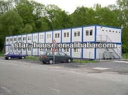 Container modular house for hotel/mining
