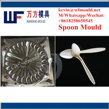 24 cavity semi-hot runner good quality plastic injection spoon mould