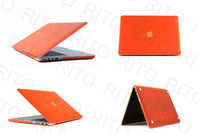 "Wholesale Matte Hard Cover Skin Case For Macbook Air 13"" 13.3"",11 Colors,Customers logo"
