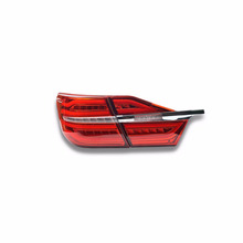 For New Camry tail lights 2015 Camry led tail light rear lamp rear trunk lamp 2014 drl signal