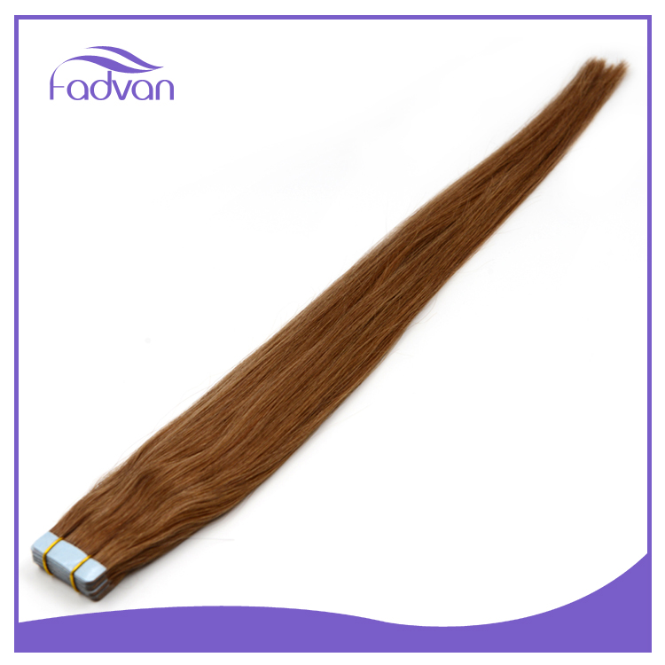 High quality 100% brazilian virgin remy mini flower kinky curly double tape hair extensions