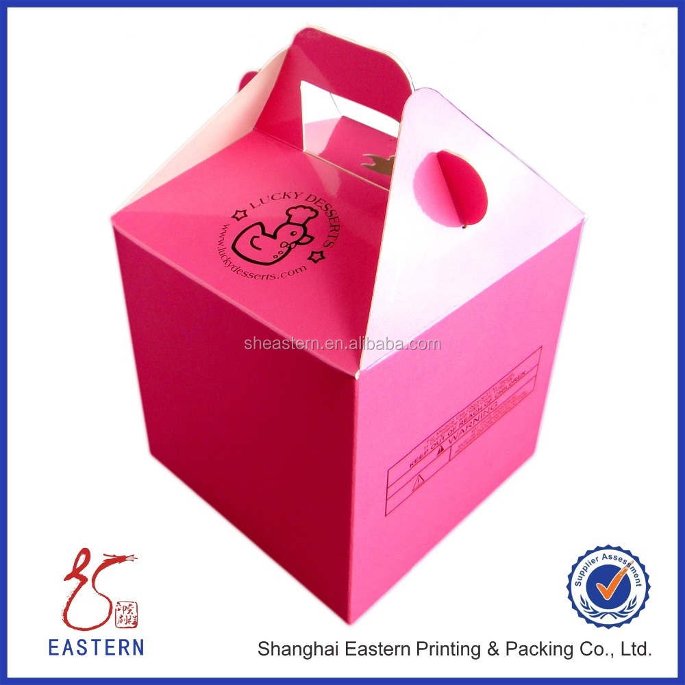 Custom Carrier Donut Box Packaging