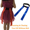 Running Chasing Tear Off Ribbons Belt