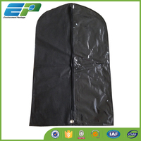 Clear Plastic Zipper Garment Bag
