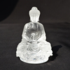 High Grade Clear Crystal Glass Buddha