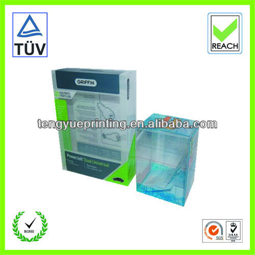 plastic boxes for electronic device/power bank packaging/plastic case for charger