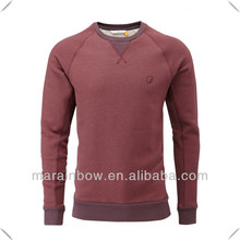 awesome design custom made raglan sleeve 100% cotton heavy weight embroidery sweatshirt