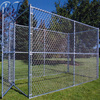 Alibaba best seller-double dog kennel with solid bar runs and single dog kennel with mesh run