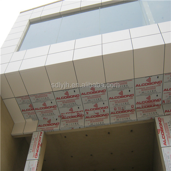 5mm aluminium composite panel acp sheet / wall cladding lightweight construction materials for Egypt