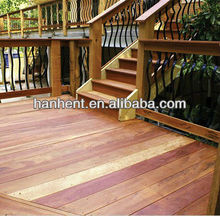 alibaba fireproof wood plastic composite decking
