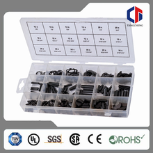 TC-3026 Hardware Assortment 460PC Woodruff Key E-Clip Roll Pin and Retaining Ring Assortment