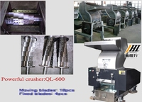 Cheap and quality pet bottle plastic crusher for recycling line