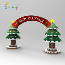 Sunway Arch Inflatable Christmas Tree Arch Advertising Inflatables