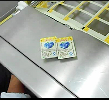Thermoforming pack machine of portion control butter served by airlines, international hotels and other leading institutions