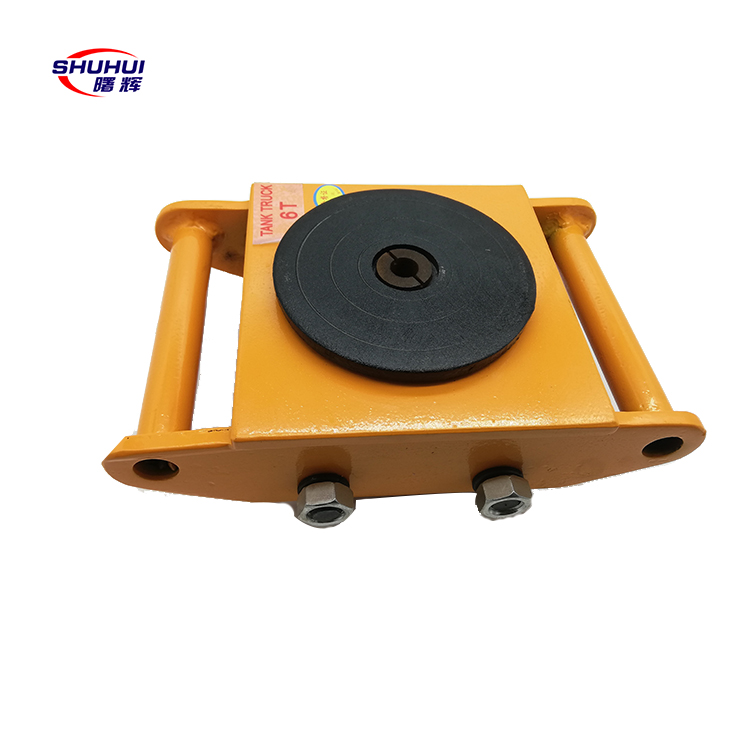 high quality CRA moving skates heavy duty transport roller trolley rotating trolley