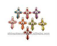 fashion acrylic cross decoration
