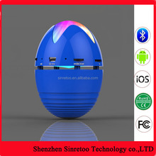 Out door rider portable speaker wireless speaker Egg shape tumbler bluetooth speaker