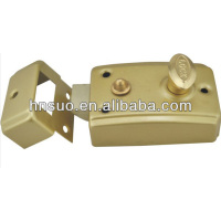 high quality rust proof rim latch door lock parts name