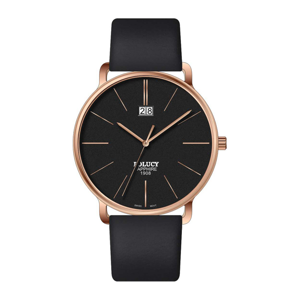 High Quality fashion custom your logo luxury rose gold watches