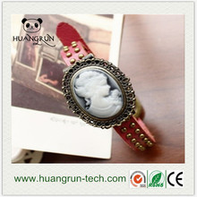 Shenzhen fashion focus quartz concept ladies' flower watch