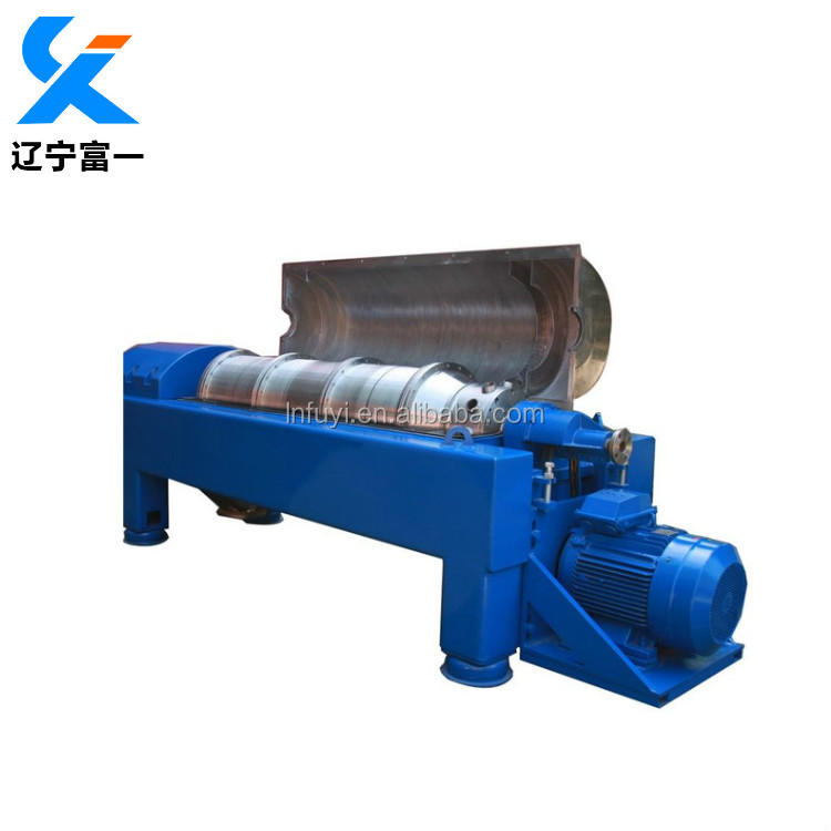 Peanut oil clarifying Horizontal Decanter Centrifuge Machine