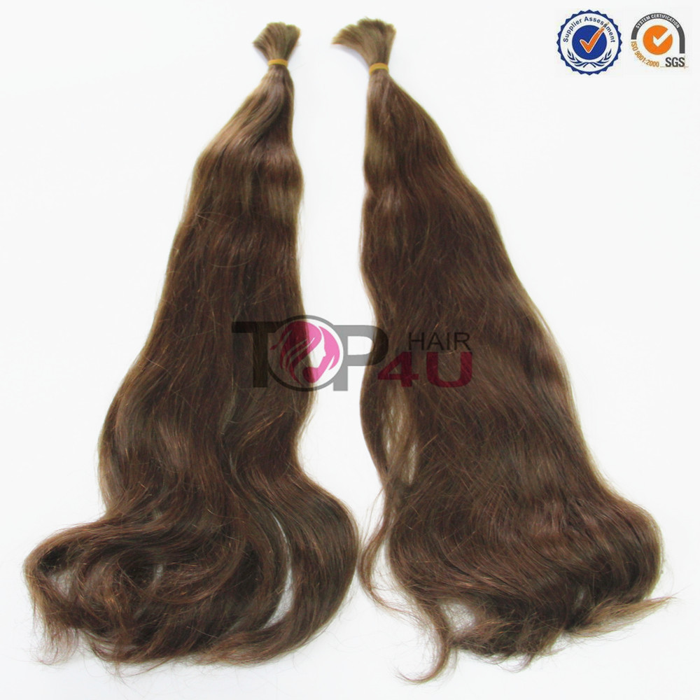Wholesale brazilian hair 100% virgin raw human hair cheap bulk hair