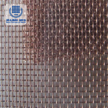 factory supply copper weave wire mesh