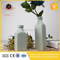 Chaozhou Manufacture Supplies Stock Ceramic Flower Vase Porcelain Vases