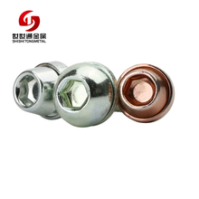 Mass Supply Superior Service Customized Carbon Steel Flange Head Combination Colorful Camera Screw