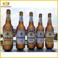 Guangzhou Factory Giant Inflatable Beer Bottle For Advertising